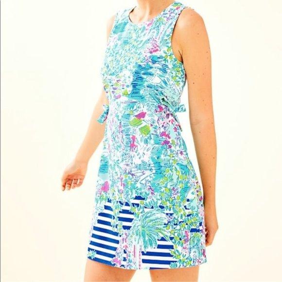 Lilly Pulitzer Marli Stretch Shift Dress Size 8